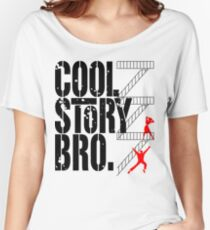 West Side Story, Bro. (Black) Women's Relaxed Fit T-Shirt