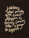 Something better by Steve Leadbeater