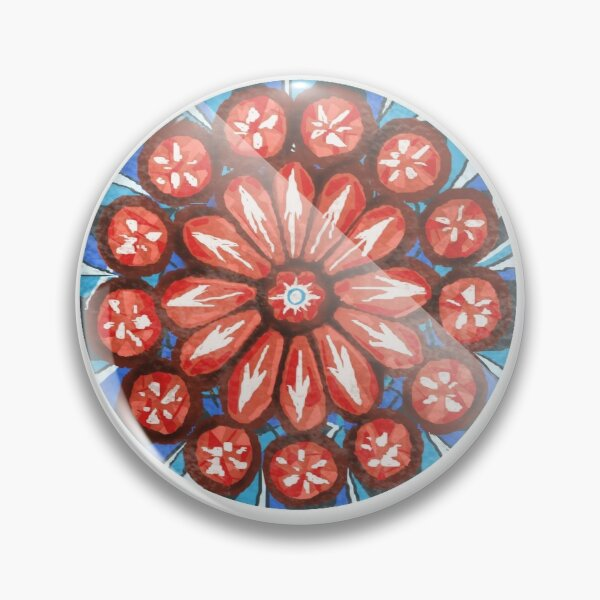 The OA Rose Window Pin