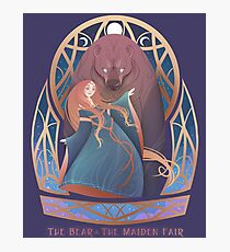 The Bear & The Maiden Fair Photographic Print