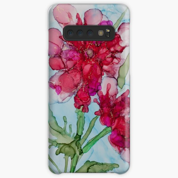 Springs Red Flower  Samsung Galaxy Snap Case