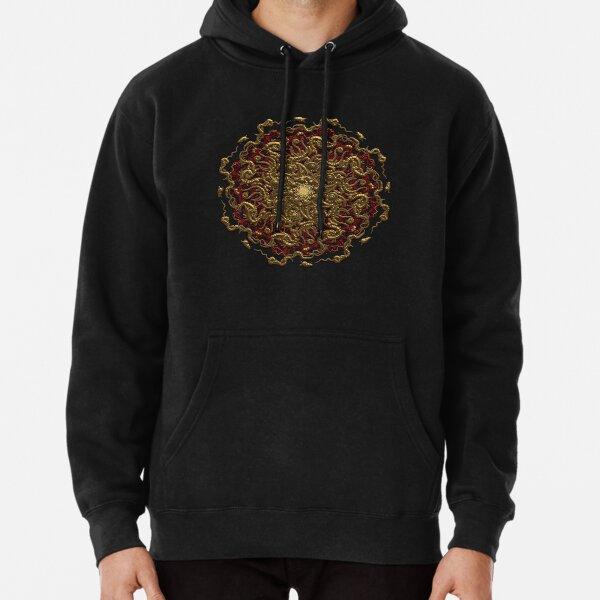3D Printed Hoodie Sweatshirts,Mandala Inspired Digital,Hoodie Casual Pocket Sweatshirt