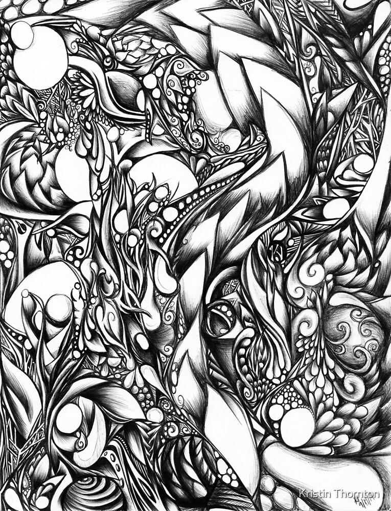 Doodle 1- Life by Kristin Thornton