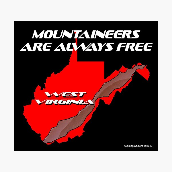 Mountaineer State Photographic Print