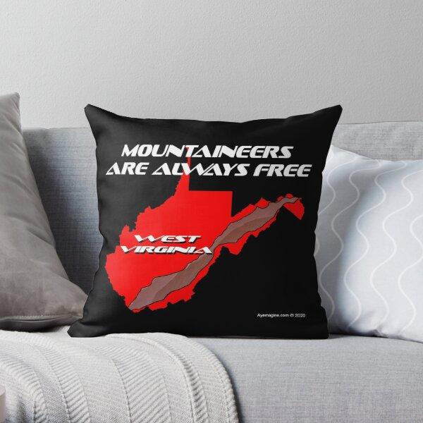 Mountaineer State Throw Pillow