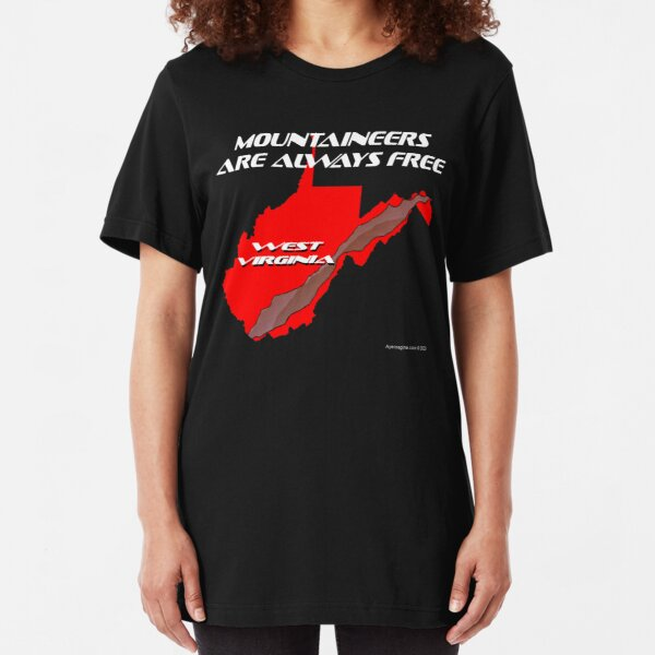 Mountaineer State Slim Fit T-Shirt