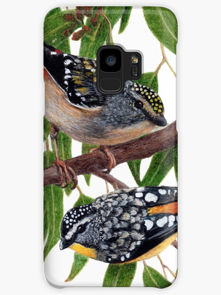 Spotted pardalotes by Milly Formby