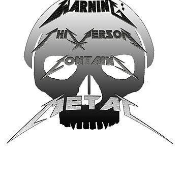 Metal Warning by BadRabbit