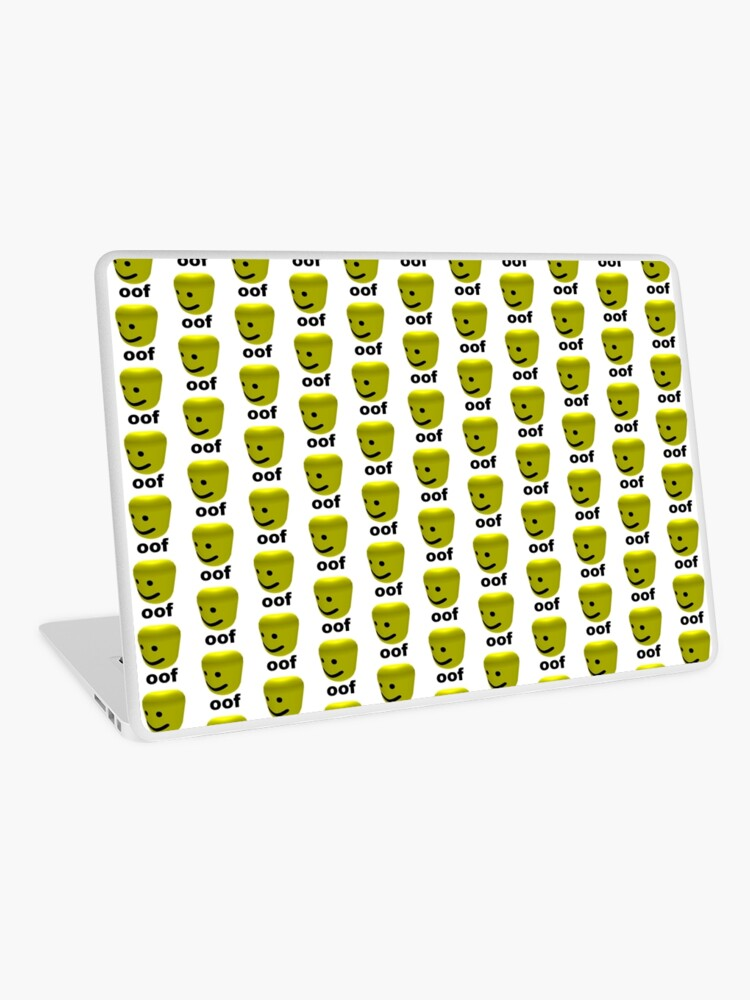 Roblox Oof Laptop Skin By Amemestore Redbubble
