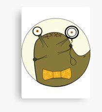 Clever Slug Canvas Print