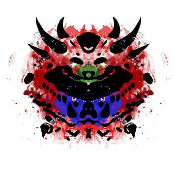 Cacodemon Rorschach by NormalSizedDeet