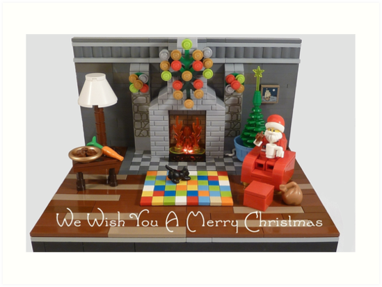 We Wish You A Merry Christmas by minifignick