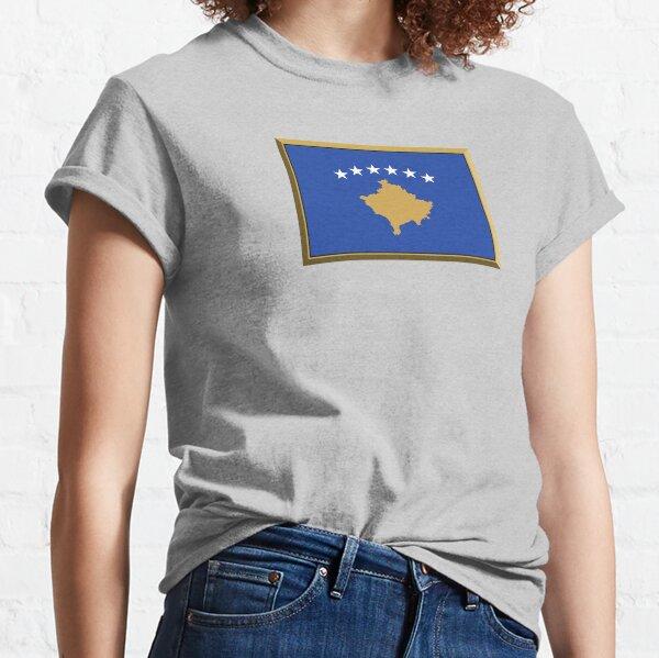 Kosovo Flaggenaufkleber, Geschenke und Produkte Classic T-Shirt