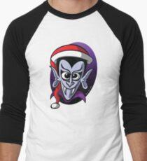 Christmas Dracula Men's Baseball ¾ T-Shirt