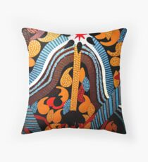 Outback Star Throw Pillow