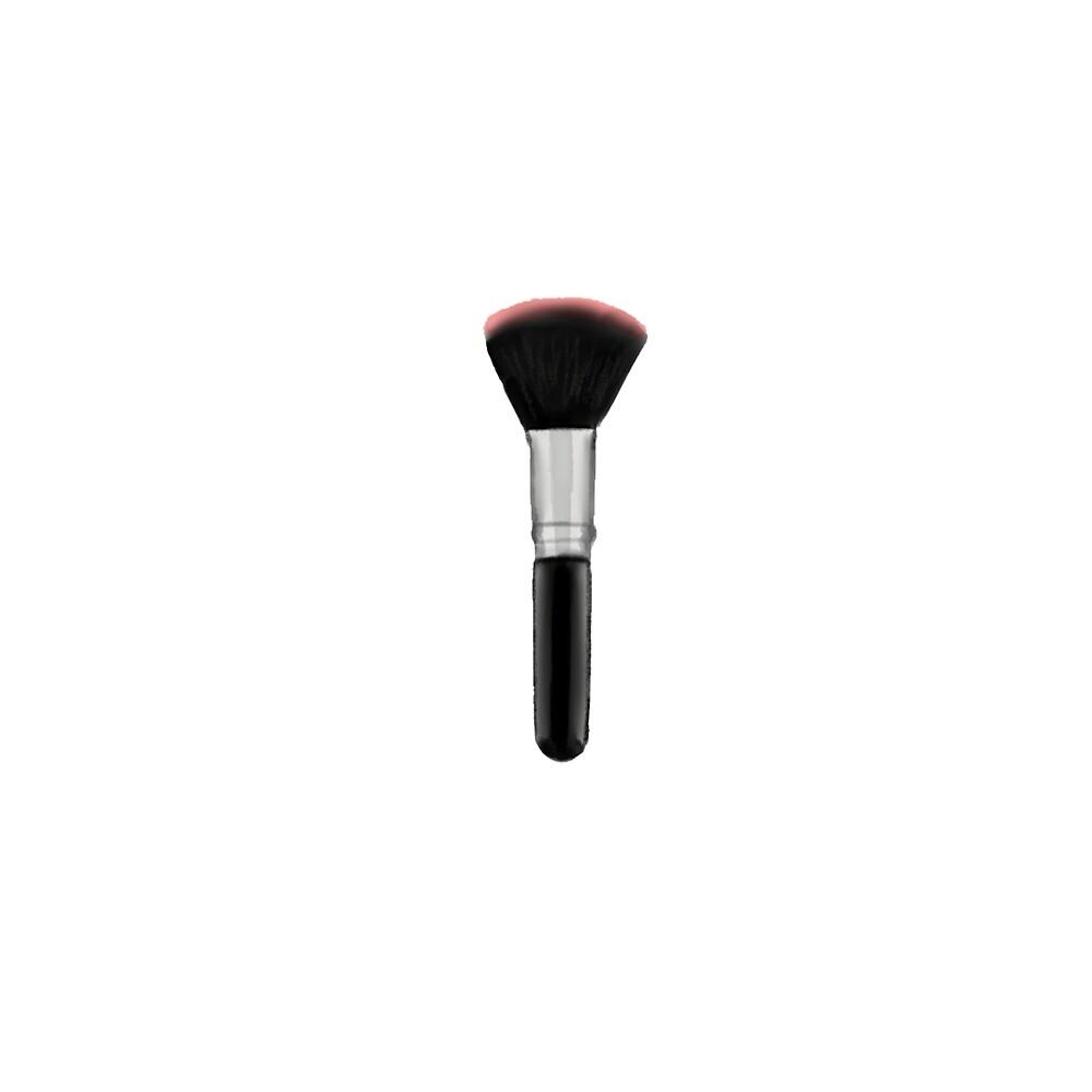 Makeup Brush by Melissa Middleberg