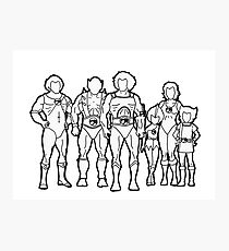 Thundercats Outline Photographic Print