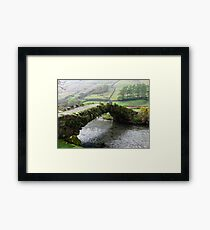 A Living Bridge Framed Print