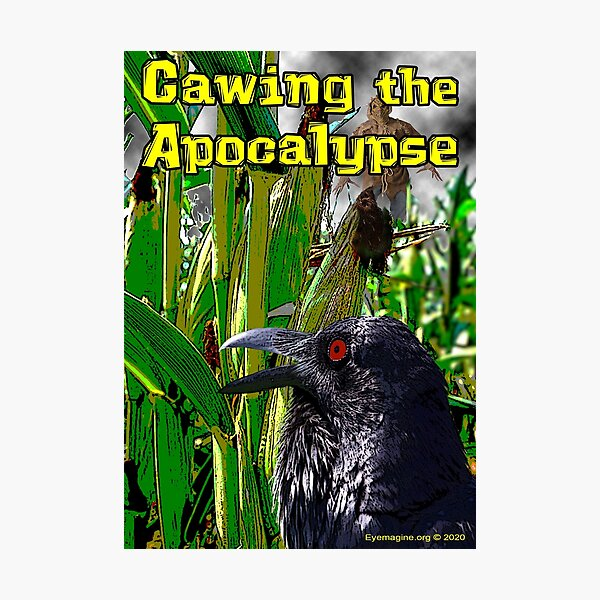 Cawing the Apocalypse Photographic Print