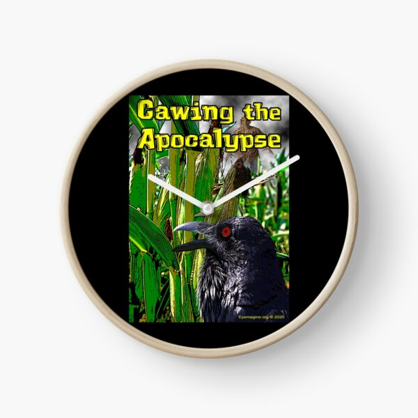 Cawing the Apocalypse Clock