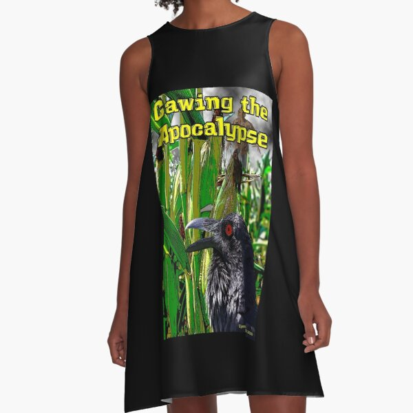Cawing the Apocalypse A-Line Dress
