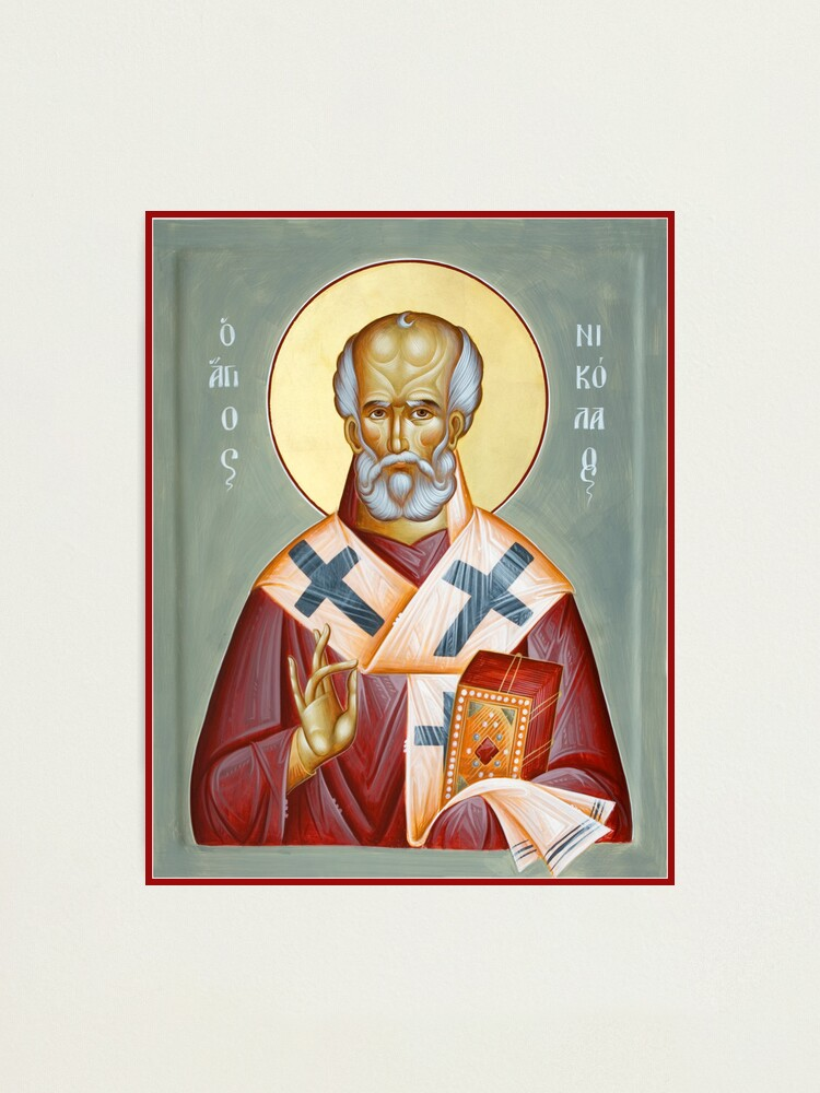 Alternate view of St Nicholas of Myra Photographic Print