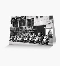 Time out for New York's NYPD Greeting Card