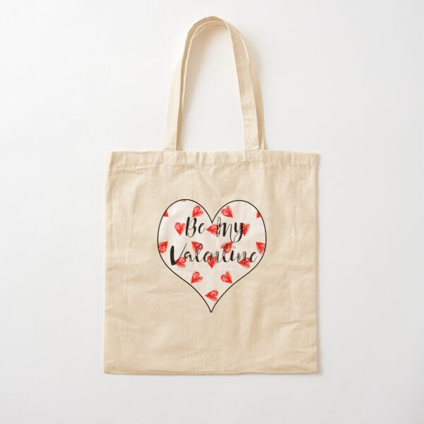 Be My Valentine Cotton Tote Bag