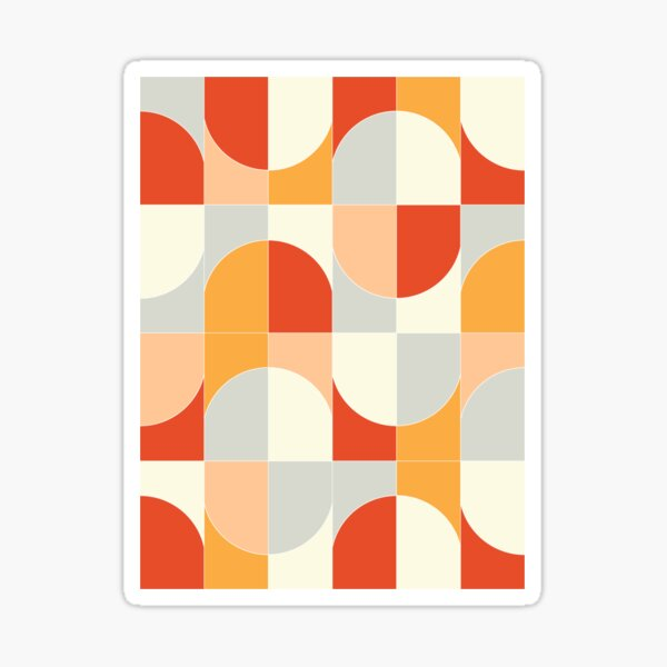 Bold Geo Tiles 02 Sticker