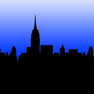 New York Skyline by bellamendiola