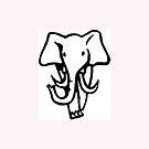 Elephant by michelleduerden
