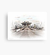 St. Petersburg Pier HDR Metal Print