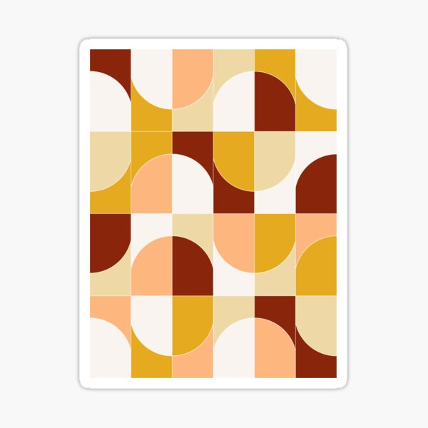 Bold Geo Tiles 03 Sticker