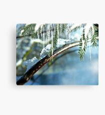 Ice Magic Canvas Print