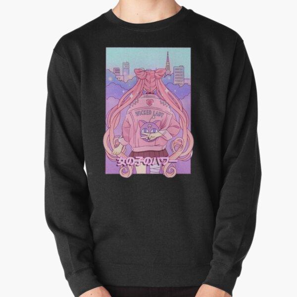 Sailor Guardian: Girl Power! Pullover Sweatshirt