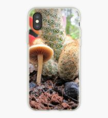 Tiny Fungi & A Cactus iPhone Case