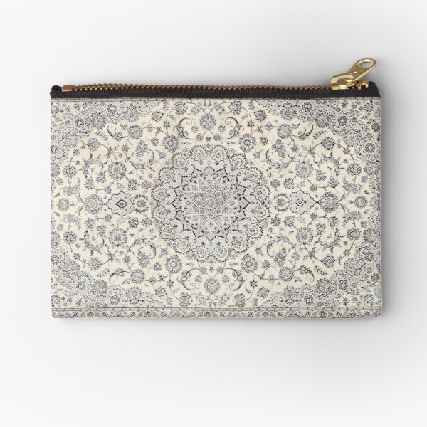 Traditional Oriental Moroccan Style Artwork Zipper Pouch