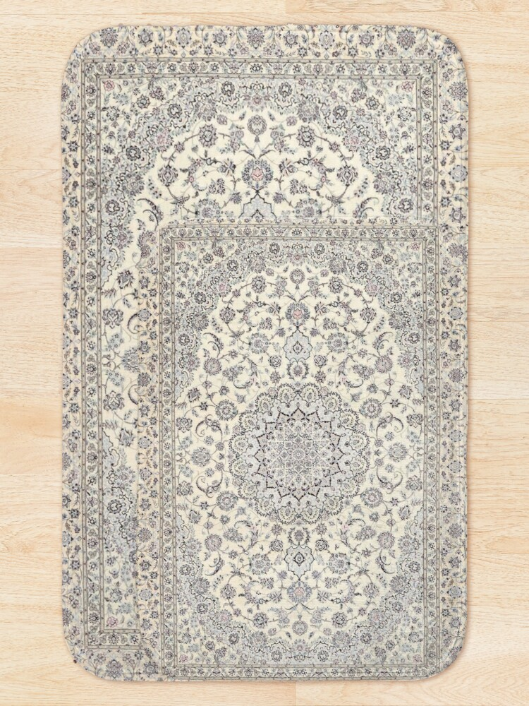 Alternate view of Traditional Oriental Moroccan Style Artwork Bath Mat