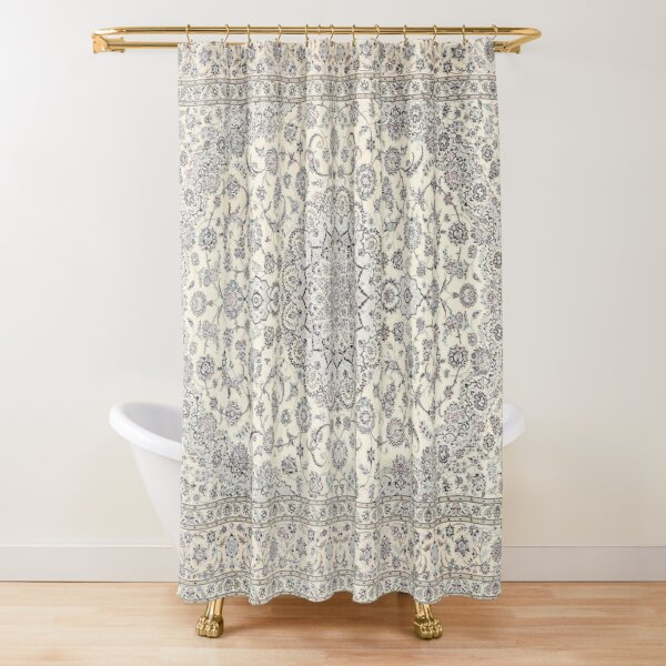 Traditional Oriental Moroccan Style Artwork Shower Curtain