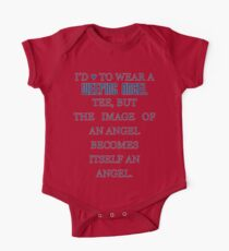 Can't wear a... weeping angel tee! Kids Clothes