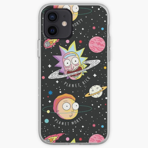 Rick and Morty Planets iPhone Soft Case