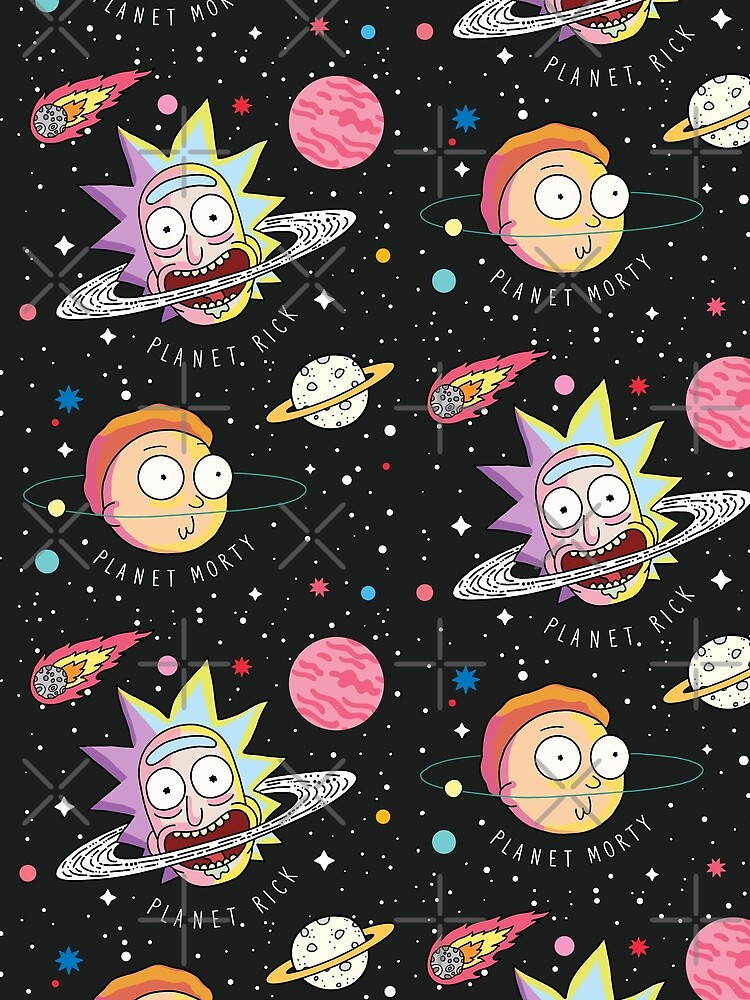 Rick and Morty Planets by SuperrSunday