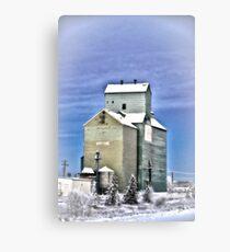 Hythe,Alberta Canvas Print