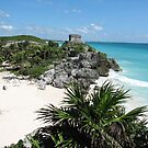 Tulum ruins by ecotterell
