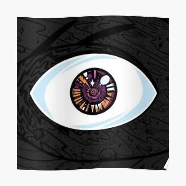 Bad Bunny  eye fan art Póster