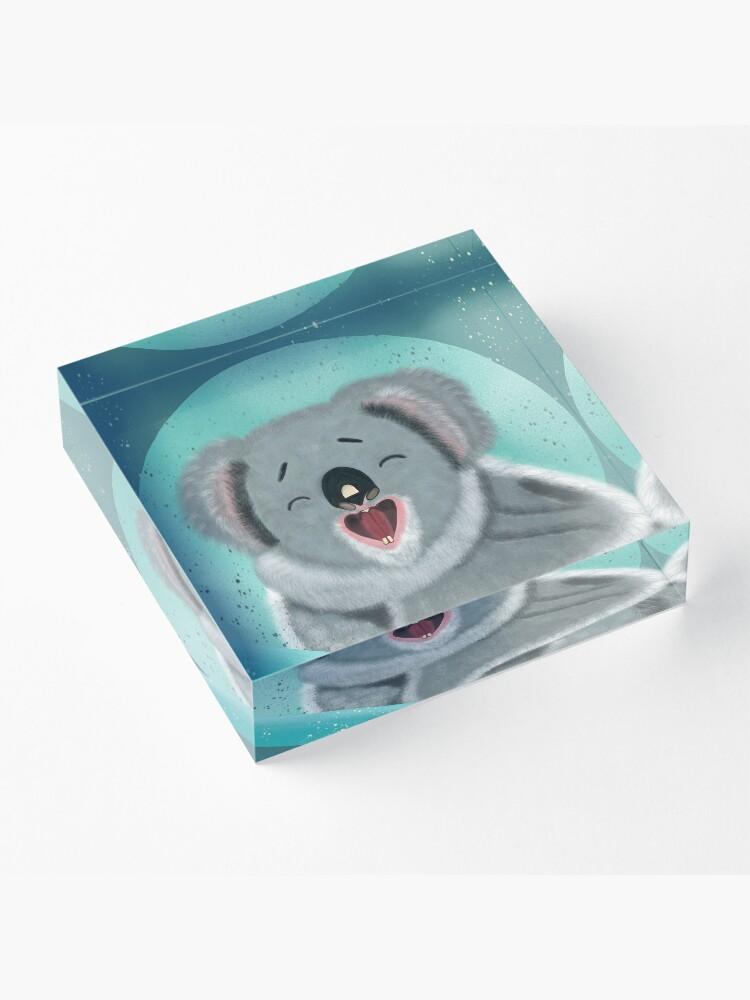 Alternate view of Koala - Keiko Koala Acrylic Block