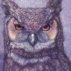 Horned owl by Indigo46