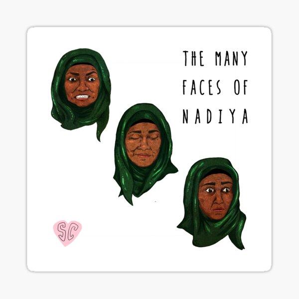 The Many Faces of Nadiya, GBBO Sticker