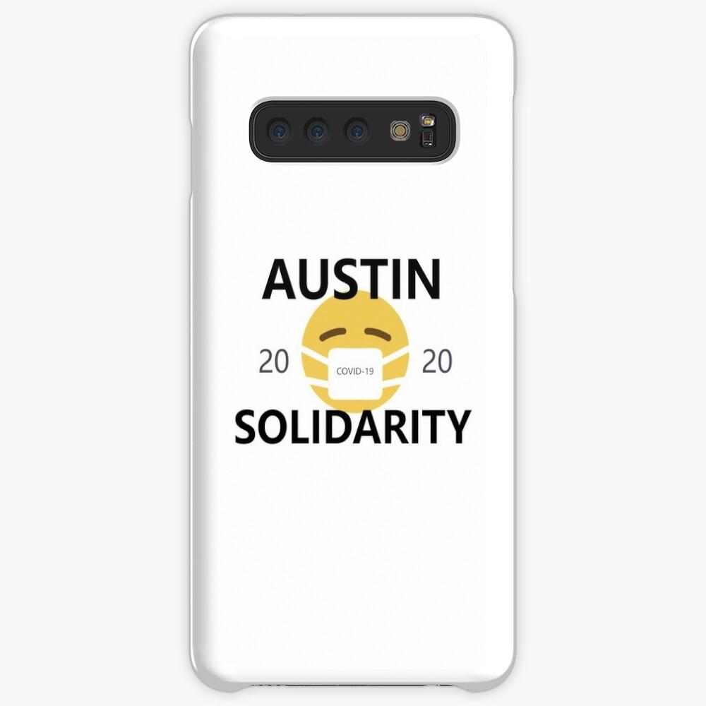 Austin COVID-19 Solidarity Case & Skin for Samsung Galaxy