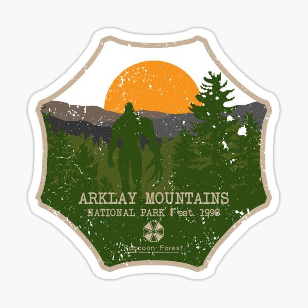 Arklay Mountains National Park Sticker
